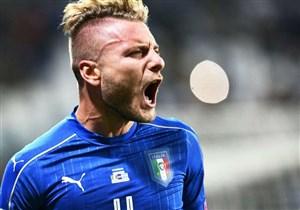 گل اول ایتالیا به فنلاند (ایموبیله)