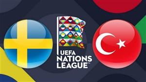 خلاصهبازی سوئد 2 - ترکیه 3 (لیگملتهایاروپا)