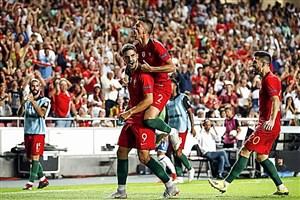 پرتغال 1-0 ایتالیا: پیروزی سلسائو بدون رونالدو