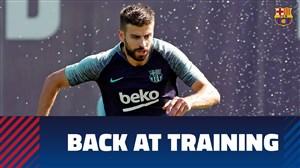 تمرین امروز تیم بارسلونا (20-06-1397)