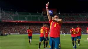 گل اول اسپانیا به کرواسی ( سائول نیگز )