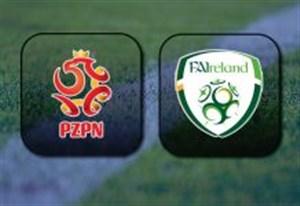 خلاصه بازی لهستان 1 - جمهوری ایرلند 1