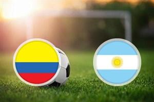 خلاصهبازی کلمبیا 0 - آرژانتین 0