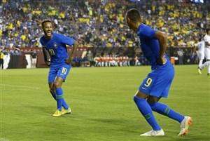 پیروزی برزیل و توقف آرژانتین در دیدارهای دوستانه