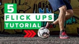 آموزش 5حرکت نمایشی برای بلندکردن توپ درفوتبال