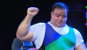 نایب قهرمانی منصور پورمیرزایی در وزنهبرداریمعلولین