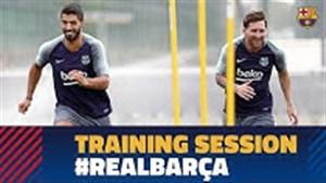 تمرین آماده سازی بازیکنان بارسلونا (21-06-97)