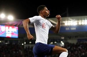 گل دوم انگلیس به اسپانیا (راشفورد)
