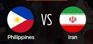 خلاصه بسکتبال ایران 81- فیلیپین 73