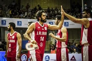 ششمین پیروزی بسکتبال ایران در مقدماتی جام جهانی