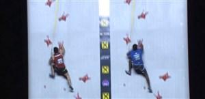 قهرمانی رضا علیپور در صخره نوردی سرعت جهان