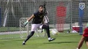 آخرین تمرین تیم الدحیل قبل از سفر به تهران