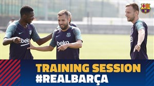 تمرین بارسلونا (23-06-97)