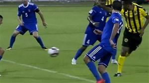 اولین گل ساموئل اتوئو برای القطر در بازی برابر الشحانیه