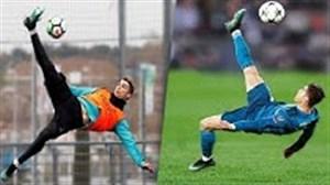 7 گل رونالدو که قبل از بازی در تمرین هم به ثمر رسانده