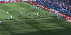 گل اول رئال سوسیداد به بارسلونا (آریتز الوستوندو)