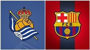 خلاصه بازی رئال سوسیداد 1 - بارسلونا 2