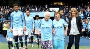 تقدیر باشگاه منچستر سیتی از هوادران 102 و 95 ساله