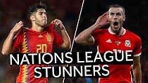بهترین گلهای هفته اول و دوم لیگ ملت های اروپا