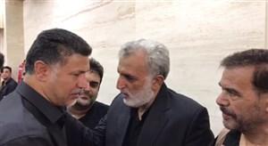 مراسم ختم نوه حسین فرکی با حضور بزرگان فوتبال