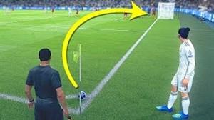 آموزش گل مستقیم از کرنر در FIFA19