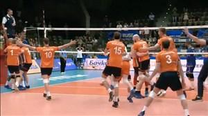 خلاصه والیبال هلند 3 - فرانسه 2 ( قهرمانی جهان)