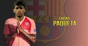 لوکاس پاکوئتا ستاره برزیلی مد نظر بارسلونا