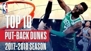 10 پوت بک  دانک برتر NBA در فصل 18-2017