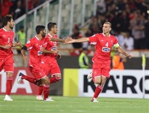 گل سیدجلال حسینی بهترین گل  1/4 نهایی لیگ قهرمانان