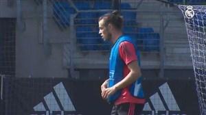 آخرین تمرین رئال مادرید برای رویارویی با آ اس رم