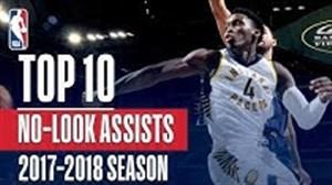 برترین پاس های بین دو زانو در بسکتبال NBA فصل 18-2017