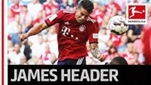اتفاقات برتر هفته سوم بوندسلیگا ; اولین گل فصل جیمز رودریگز