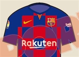 طرح جنجالی نایک برای پیراهن فصل بعد بارسلونا