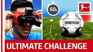 چالش گلزنی با عینکهایعجیب بازیکنان هافنهایم