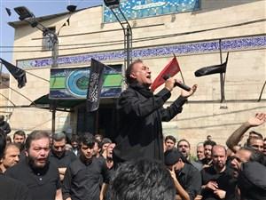 مداحی فرهاد کاظمی در عاشورای حسینی