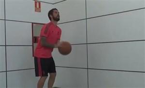 پرتاب های 3 امتیازی ایسکو در حلقه بسکتبال