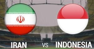 خلاصهبازی ایران 0 - اندونزی 2 (زیر16سال)