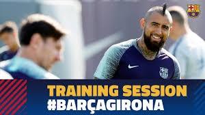 تمرینات بازیکنان بارسلونا (30-06-97)