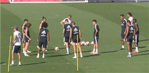 پنجمین تمرین رئال مادرید برای آماده سازی تیم