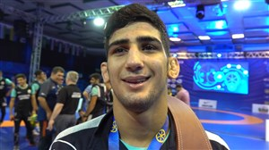 مصاحبه با کاویان نژاد پس از کسب قهرمانی جهان
