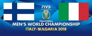 خلاصه والیبال ایتالیا 3 - فنلاند 0 (قهرمانی جهان)