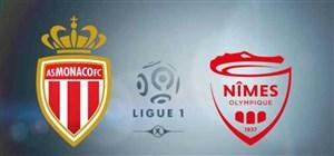 خلاصه بازی موناکو 1 - نیم المپیک 1
