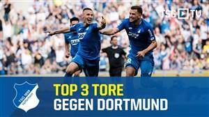 3 گل برتر هافن هایم در برابر بروسیا دورتموند در فصل 19-2018