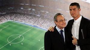 پرز: رونالدو به رئال بازخواهد گشت