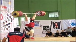 رکوردشکنی غیررسمی لاشا تالاخادزه در مسابقات کشوری گرجستان