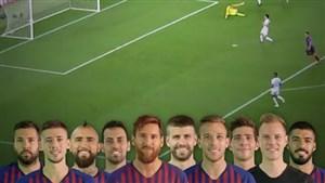همکاریتمامیبازیکنانبارسلونا رویگلچهارمبهآیندهوون