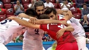رالی دیدنی در ست چهارم دیدار ایران - کانادا