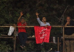 تبعید مشهورترین هواداران لیگ برتر به ارتفاع! (عکس)