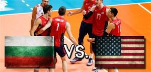 خلاصه والیبال بلغارستان 0 - آمریکا 3