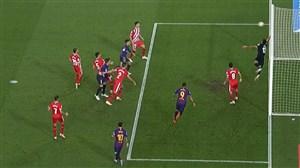 گل دوم بارسلونا به خیرونا (پیکه)